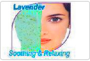 Lavendar Soothing peel off Mask.