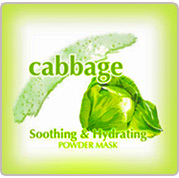 Cabbage Peel off Mask,Soothing & Hydrating Powder Mask.